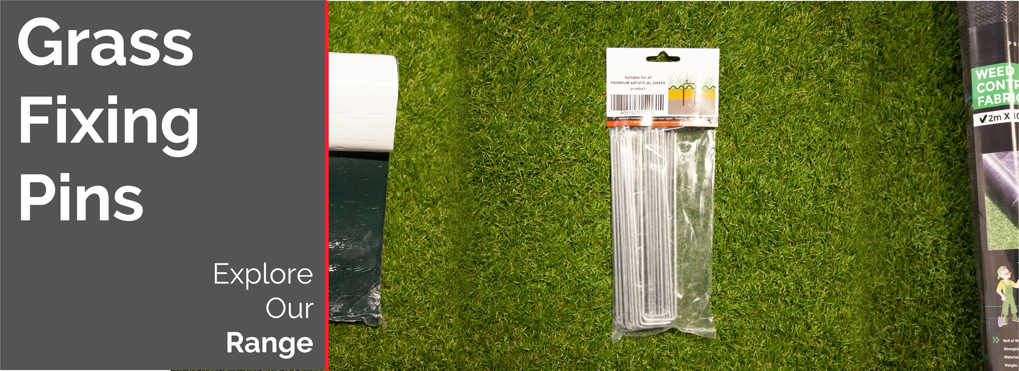 Artificial Grass Fixing Pins