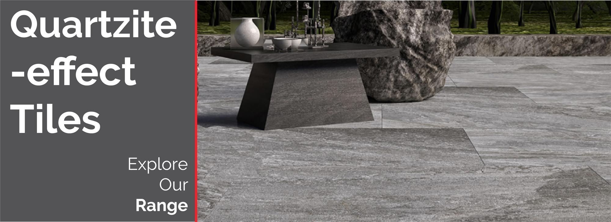 Quartzite-Effect Tiles