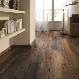 Laminate Flooring - 12mm Robusto 4V AC5 Harbour Oak (EIR) 138x19cm