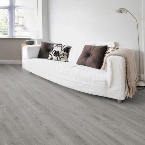 Laminate Flooring - 12mm Robusto 4V AC5 Timeless Oak Grey (EIR) 138x19cm