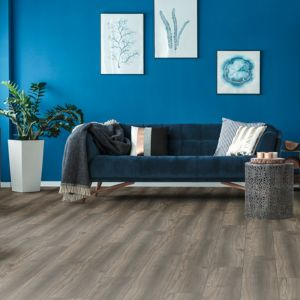 Laminate Flooring - 12mm Robusto 4V AC5 Port Oak Titan (EIR) 138x19cm