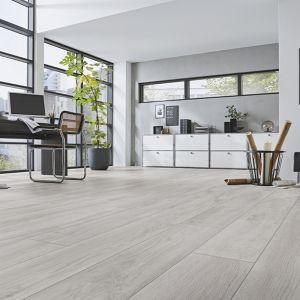 Laminate Flooring - 12mm Robusto 4V AC5 Premium Oak Grey (AF) 138x19cm
