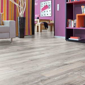 Laminate Flooring - 12mm Robusto Plank 4V AC5 Harbour Oak White (EIR) 138x19cm