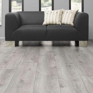 Laminate Flooring - 10mm Mammut Plus AC5 Macro Oak White (EIR) 185x24cm