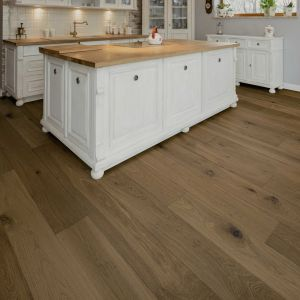 Engineered Wood - Prestige Warwick Oak Filled Sanded Unfinished 220x22cm