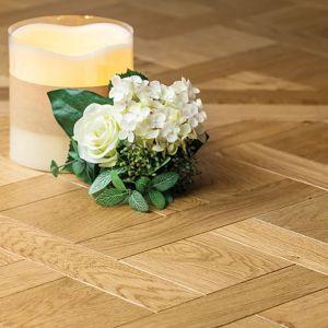 Engineered Wood - Versailles European Oak Panels Light Brushed Matt Varnished 90x90cm