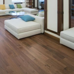 Solid Wood - American Walnut Universal Varnished RLx107x19mm
