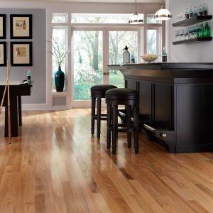 Solid Wood - Canadian Red Oak Natural Varnished RLx107x19mm