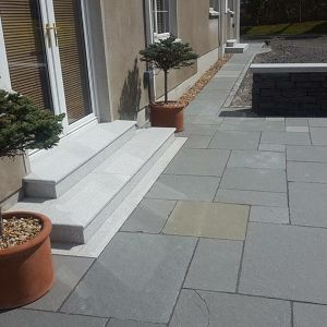 Paving Kota Grey Handcut Cal Natural 600x600x22mm