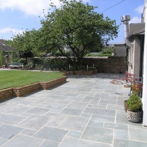 Kota Green Limestone Hand-Cut Natural Paving 30x60cm