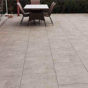 Cementino Ash Outdoor Tiles- Tile Merchant Installed in Dublin