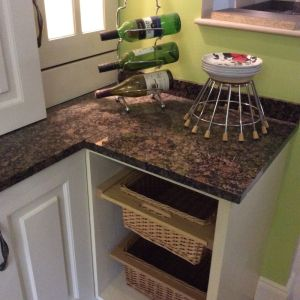 30mm Baltic Brown Granite Polished