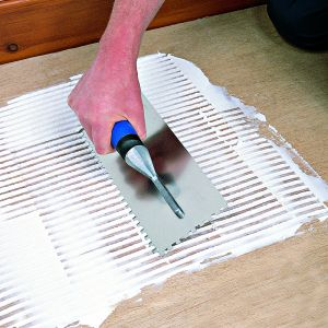 Vitrex Professional Adhesive Trowel 6mm Square Notch