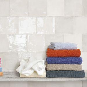 Grey ceramic gloss tile gloss finish in irish utility room