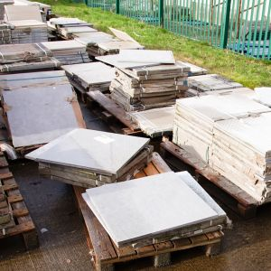 Outdoor Porcelain Matt Clearance - Mixed Sizes / Colours PER TILE