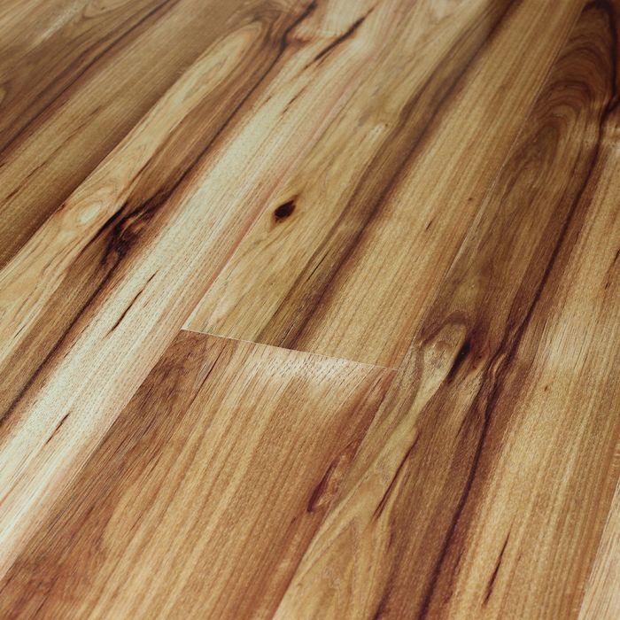 10mm Metro High Shine 4v Ac4 Tirana, Hickory Laminate Flooring