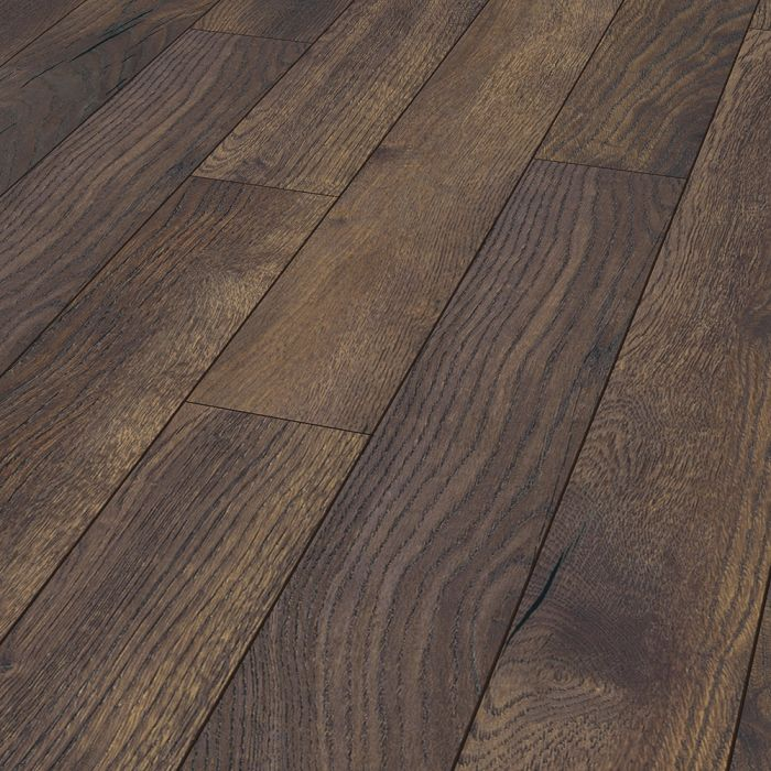Laminate Flooring 12mm Robusto 4v Ac5, Dark Oak Wood Laminate Flooring